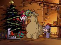 Image Merlin contre le Père Noël