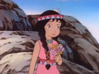 Image Pocahontas, Princesse des Indiens d'Amérique