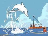 Image Oum le dauphin blanc