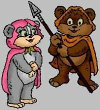 Image Les petits Ewoks